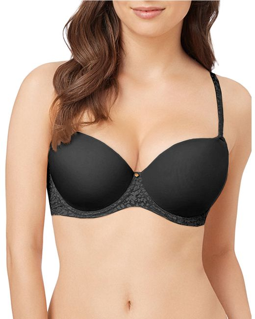 Le Mystere | Black Safari Perfect Uplift Demi Bra | Lyst
