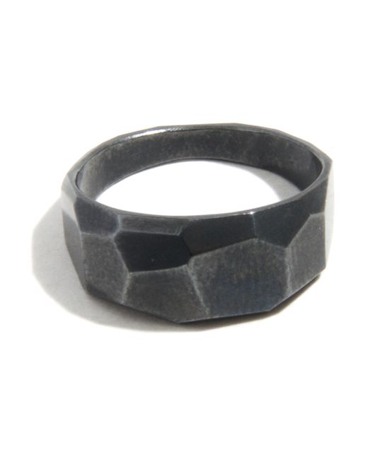 Melissa Joy Manning | Black Geometric Ring By Mute Object | Lyst