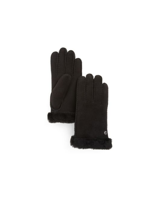 UGG | Black Classic Carter Gloves | Lyst