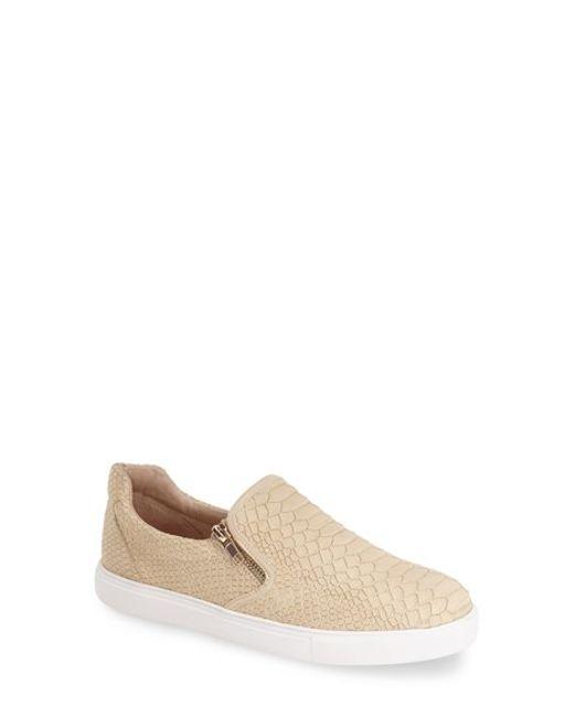 J/Slides | Natural 'zipster' Slip-on Sneaker | Lyst