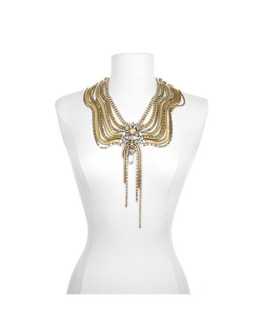 Erickson Beamon | Metallic Bette Davis Eyes Necklace | Lyst