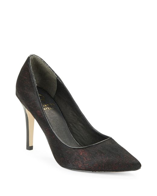 Adrianna Papell | Black Adele Calf Hair Pumps | Lyst