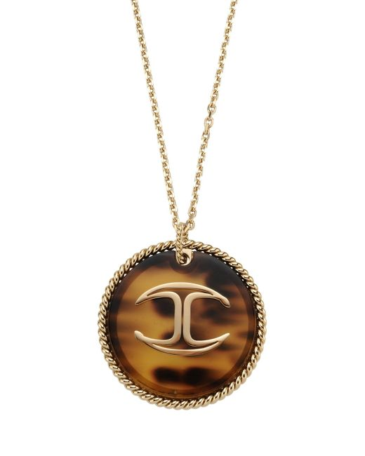 Just Cavalli   Metallic Necklace   Lyst