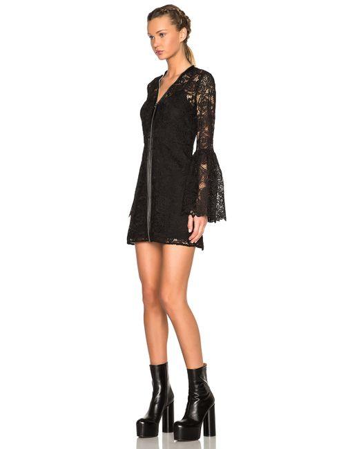 McQ | Black Lace Dress | Lyst