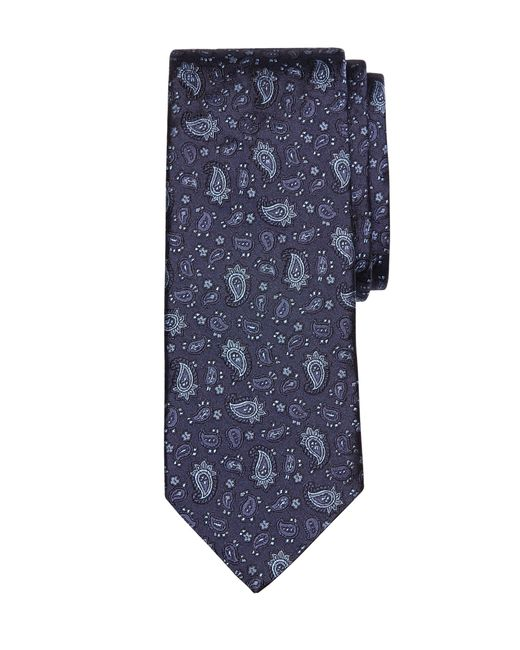 Brooks Brothers | Blue Paisley Tie for Men | Lyst