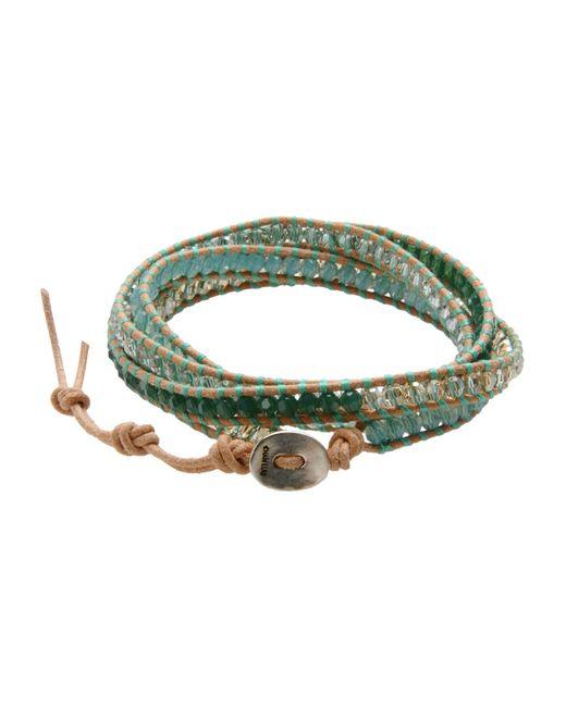Chan Luu   Green Bracelet   Lyst