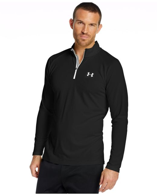 Under Armour | Black Tech 1/4-zip Shirt for Men | Lyst