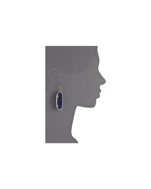 Kendra Scott   Metallic Danielle Earrings   Lyst