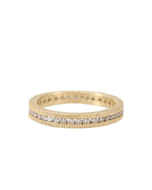 Todd Reed | Metallic Channel Set Diamond Eternity Ring | Lyst