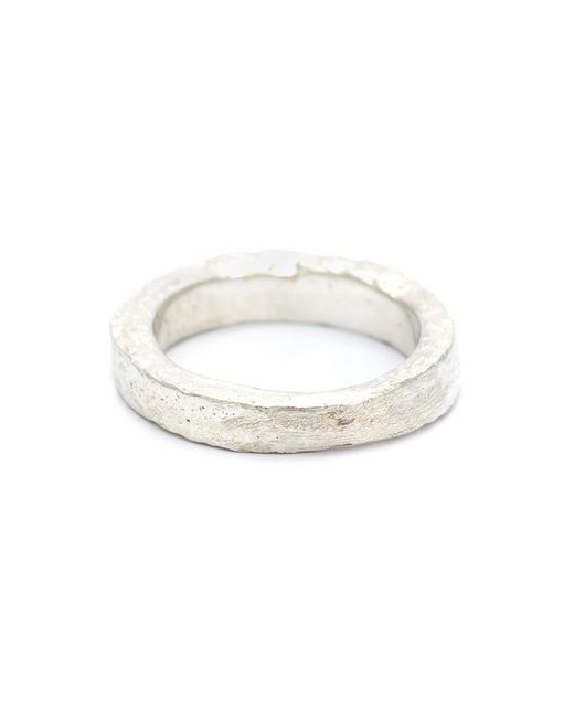 Pearls Before Swine | Metallic Forged Band Ring | Lyst