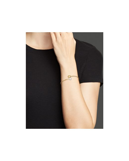 KC Designs | Metallic Diamond Square & Rectangle Bracelet In 14k Yellow Gold | Lyst