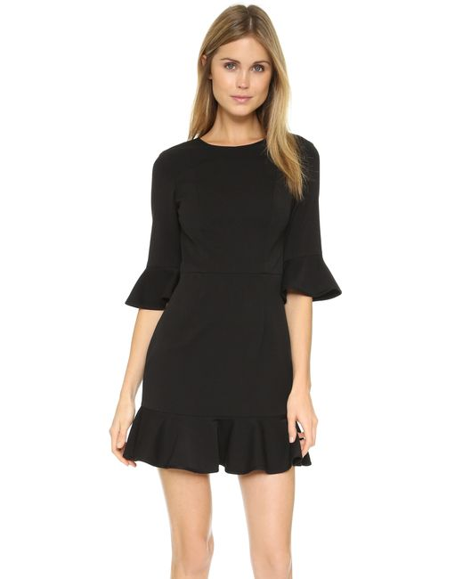 Black Halo | Black Brooklyn Dress | Lyst