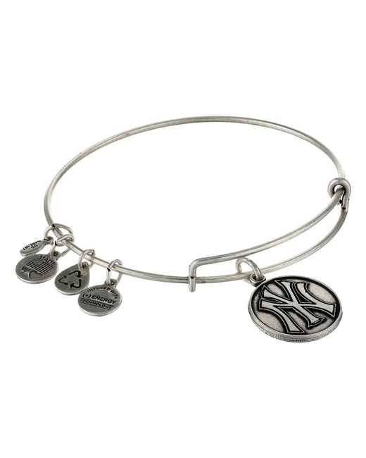 ALEX AND ANI | Metallic Mlb® New York Yankees™ Charm Bangle | Lyst