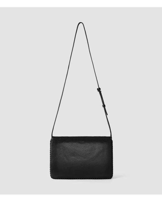 AllSaints | Black Club Crossbody | Lyst
