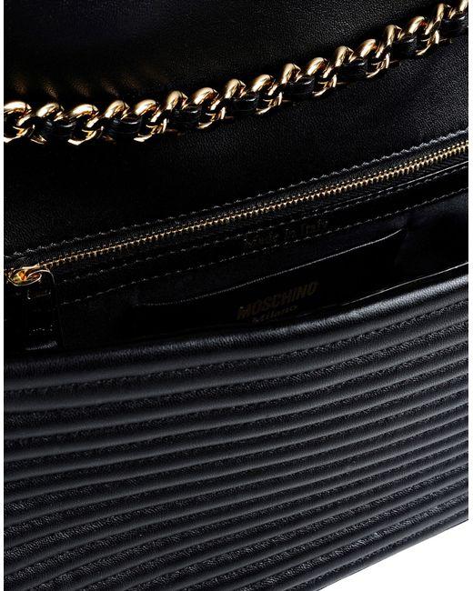 Moschino   Black Shoulder Bag   Lyst