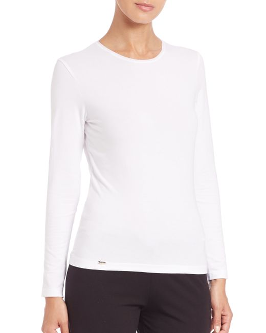 La Perla | White New Project Long-sleeve Tee | Lyst