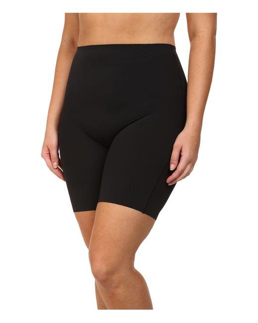 Yummie By Heather Thomson | Black Plus Size Virginia Mid Waist Shorts | Lyst