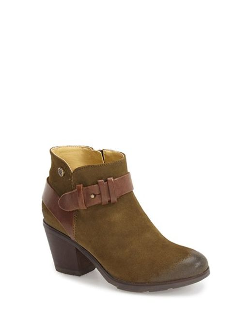 Bussola | Green 'roni' Bootie | Lyst