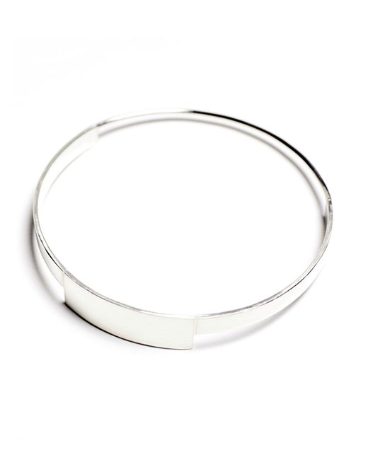 The Medley Institute | Metallic 01 Bangle | Lyst
