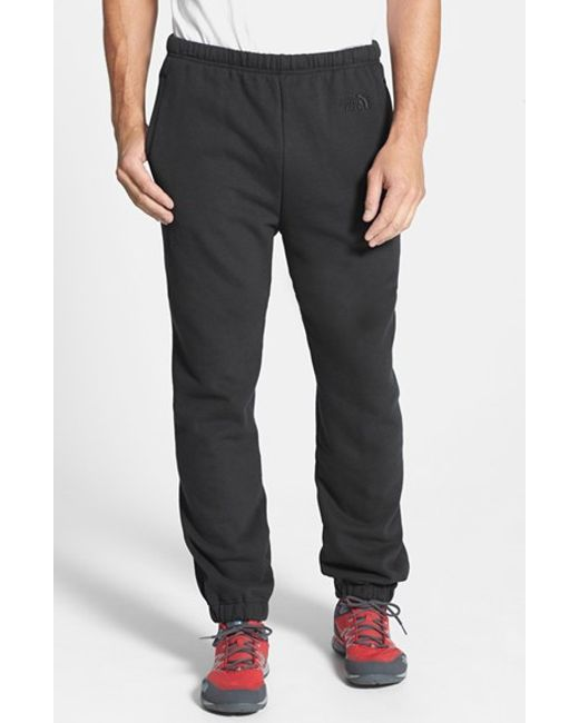 The North Face | Black 'logo' Sweatpants for Men | Lyst