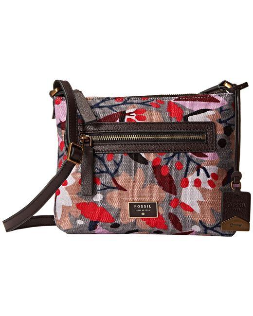 Fossil | Multicolor Dawson Floral Cross-body Bag | Lyst