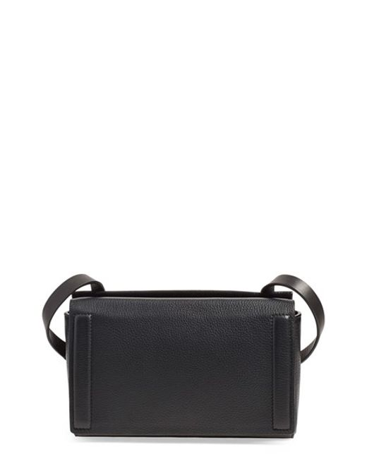 Rag & Bone | Black 'mini Aston' Leather Crossbody Bag | Lyst