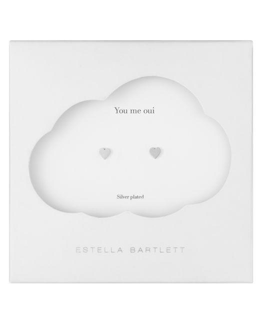 Estella Bartlett   Metallic Mini Heart Earrings   Lyst