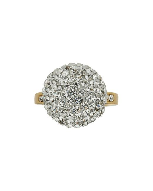 Mikey | Metallic Single Stone Cluster Ring | Lyst