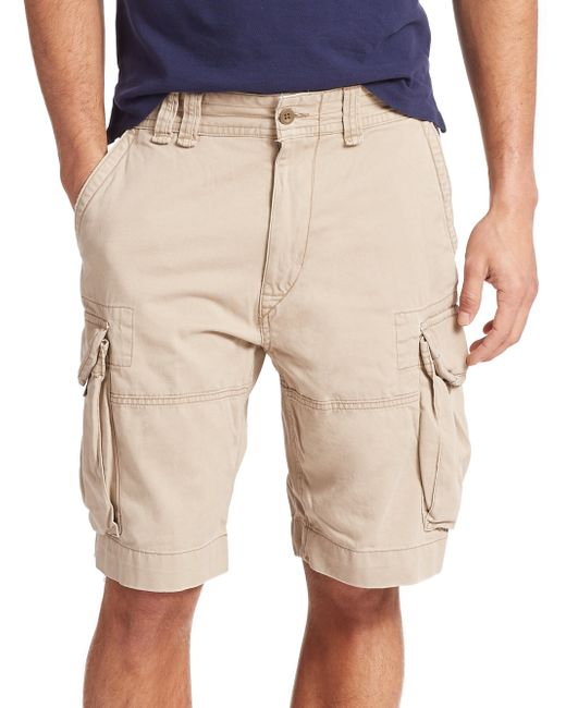 Polo Ralph Lauren | Natural Classic Cargo Shorts for Men | Lyst