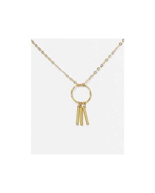 Dogeared Free Spirit Dreamcatcher Necklace 18 Quot In Gold Lyst