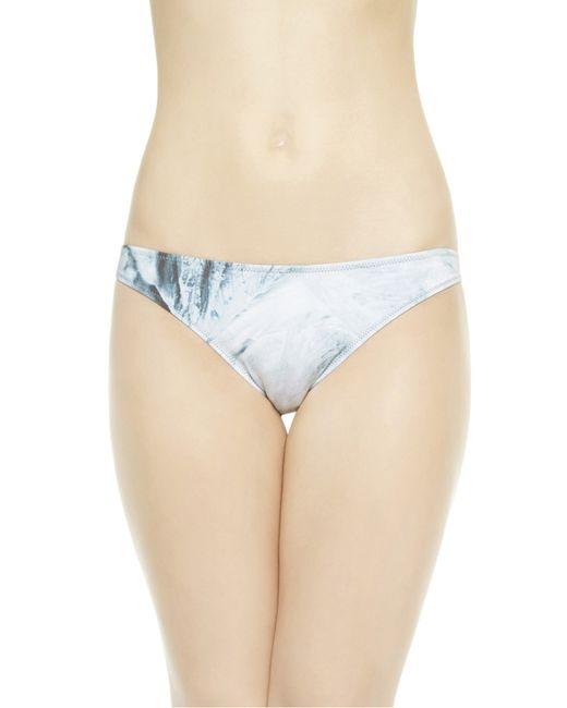 La Perla | Blue Low-rise Bikini Briefs | Lyst