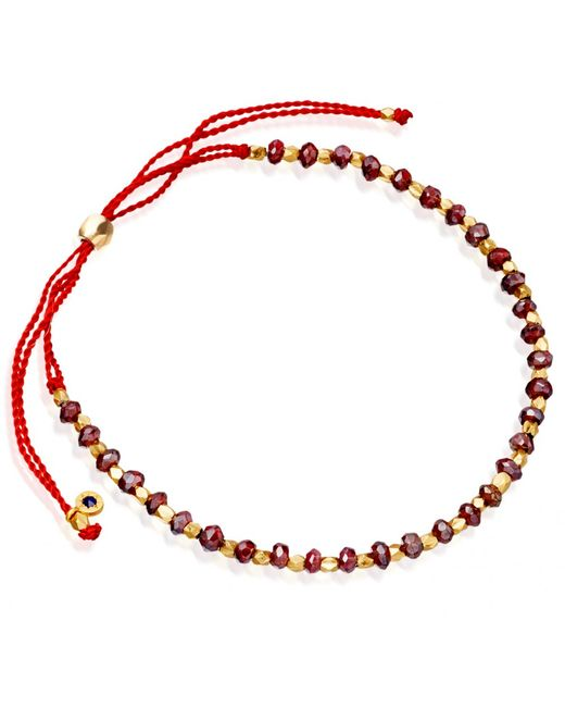 Astley Clarke | Red Protection Skinny Biography Bracelet | Lyst