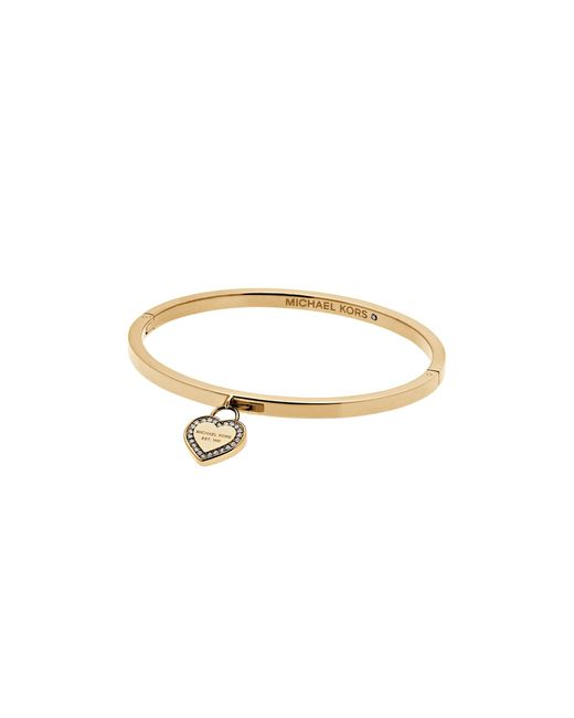 Michael Kors | Metallic Heart Bangle | Lyst