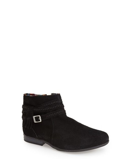 Minnetonka | Black 'dixon' Boot | Lyst