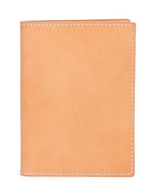 Shinola | Natural Leather Passport Wallet for Men | Lyst