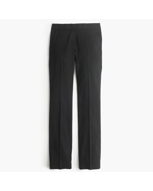 J.Crew | Black Petite Campbell Trouser In Super 120s Wool | Lyst