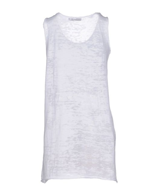 Athletic Vintage | White Vest | Lyst