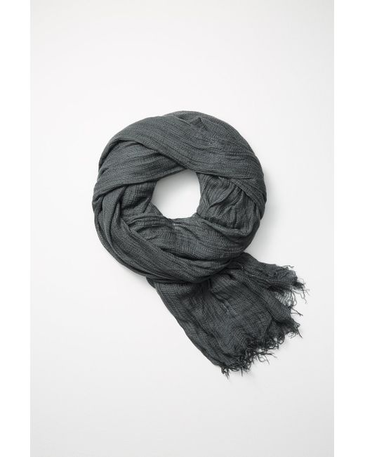 Rag & Bone | Gray Buckley Scarf | Lyst