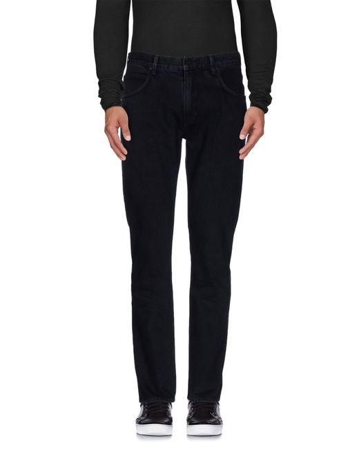 Helmut Lang   Black Denim Trousers for Men   Lyst