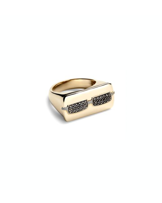 Alison Lou | Metallic 14k Gold Joe Cool Ring | Lyst