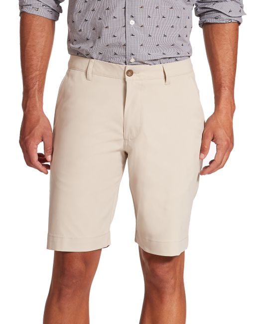 Saks Fifth Avenue | Natural Golf Shorts for Men | Lyst