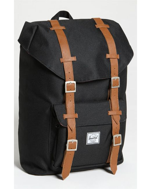 Herschel Supply Co. | Green Little America - Mid Volume Backpack for Men | Lyst