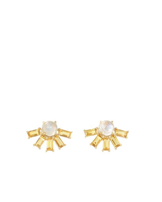 Dana Rebecca | Metallic Kristyn Kylie Sapphire Earrings | Lyst