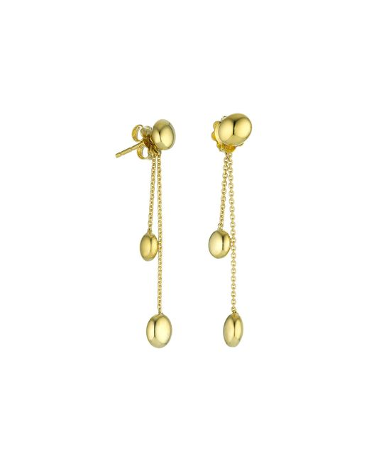 Chimento | Metallic 18k Yellow Gold Armillas Acqua Collection Bead Chain Drop Earrings | Lyst