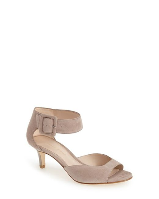 Pelle Moda | Natural Berlin Heeled Sandals | Lyst