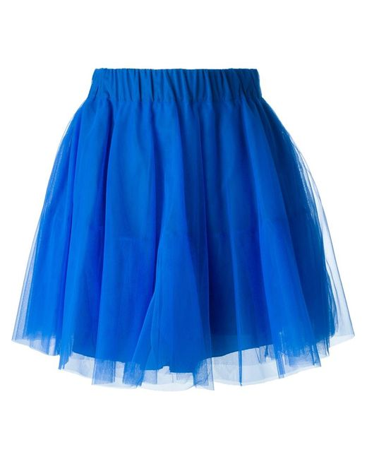 p a r o s h tulle skirt in blue lyst
