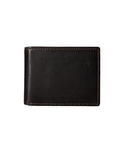 Johnston & Murphy   Black Flip Billfold Wallet for Men   Lyst