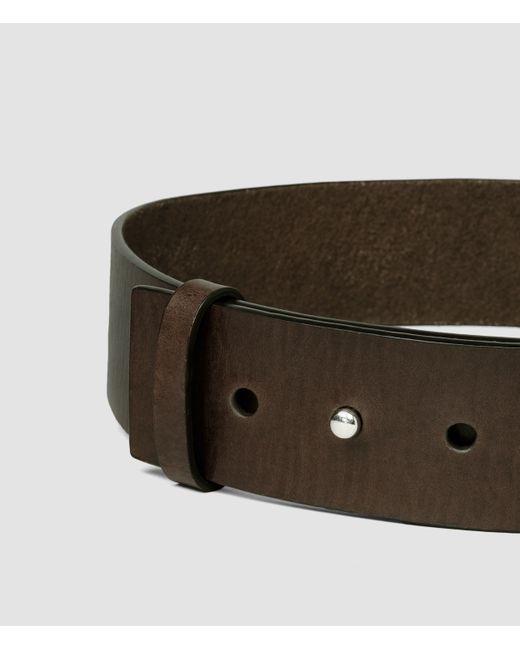 AllSaints | Brown Mimosa Waist Belt | Lyst