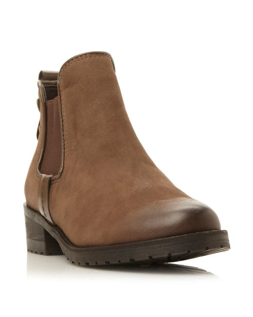 Steve Madden | Brown Graaham Leather Chelsea Boots | Lyst