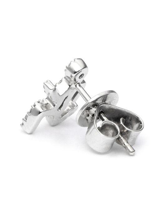 Khai Khai | Metallic 'running Man' Diamond Earrings | Lyst